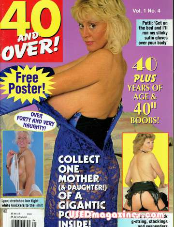 40 and Over! (this is a British Magazine) Volume 1 Issue 4
