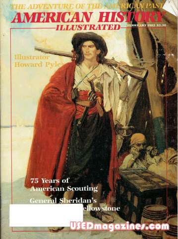 American History Illustrated February 1985