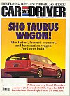 Car and Driver April 1993