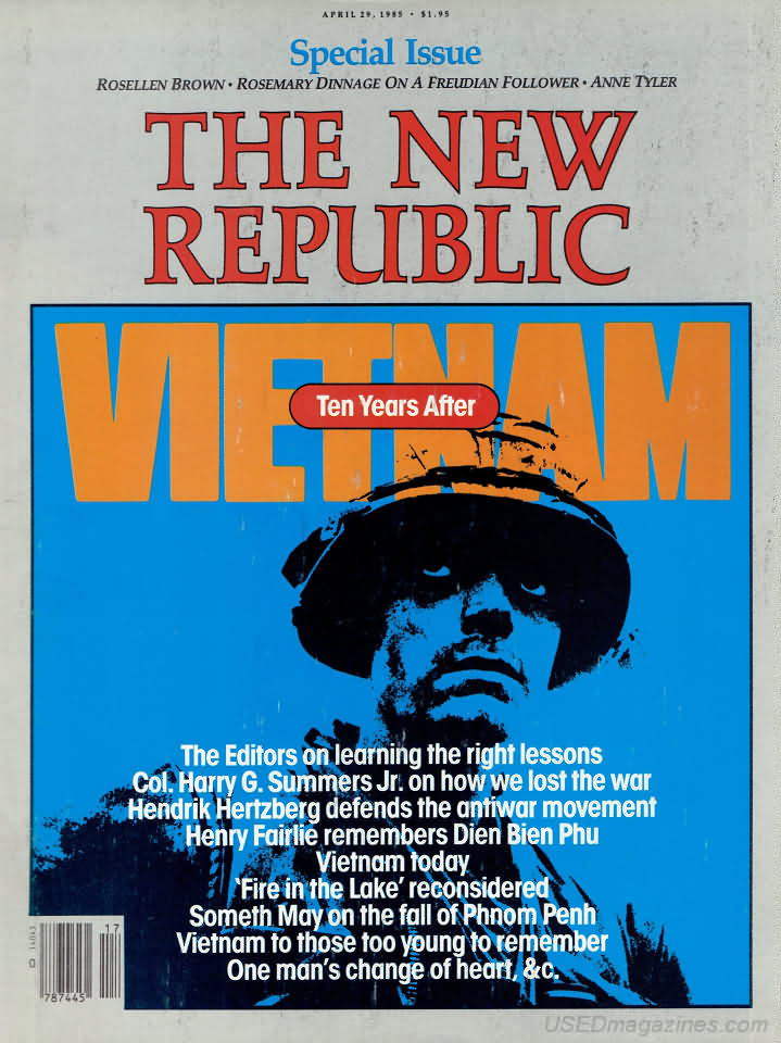 oldmags.com - The New Republic March 27, 1989 - Product