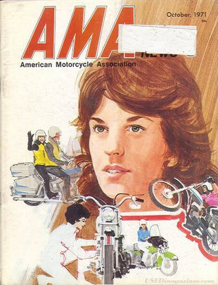 American Motorcycle Association News October 1971