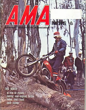 American Motorcycle Association News February 1973