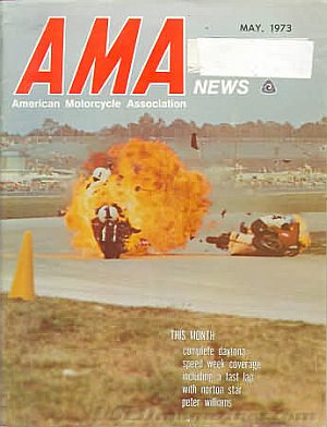 American Motorcycle Association News May 1973
