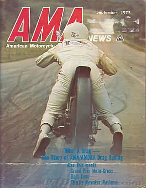 American Motorcycle Association News September 1973