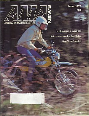 American Motorcycle Association News June 1977