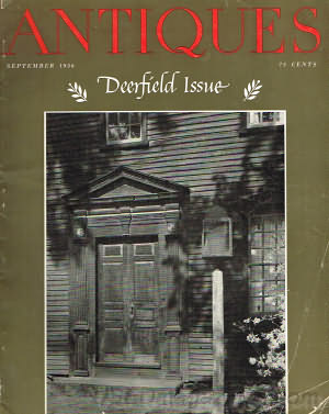 The Magazine Antiques September 1956