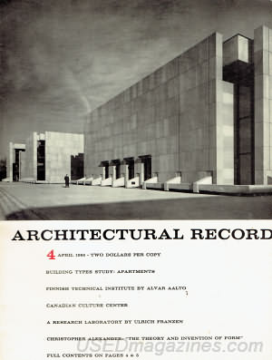 Architectural Record April 1965