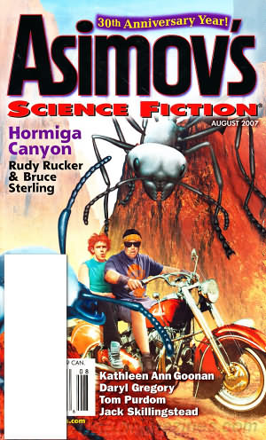 Asimov's Science Fiction August 2007