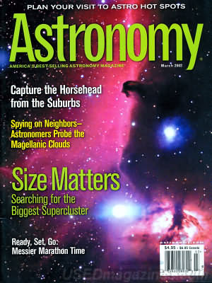 Astronomy March 2002
