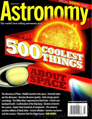 Astronomy March 2015