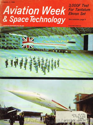 Aviation Week & Space Technology January 01, 1968