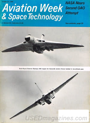 Aviation Week & Space Technology October 21, 1968