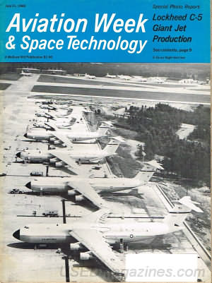 Aviation Week & Space Technology July 21, 1969