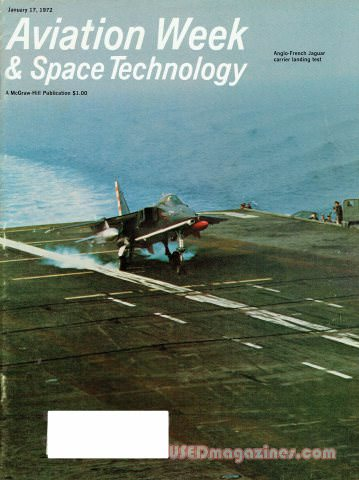 Aviation Week & Space Technology January 17, 1972