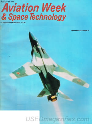 Aviation Week & Space Technology February 22, 1982