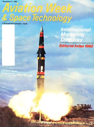 Aviation Week & Space Technology December 27, 1982