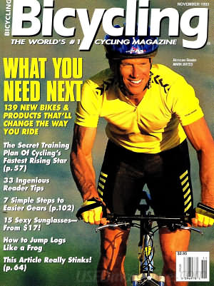 Bicycling November 1993