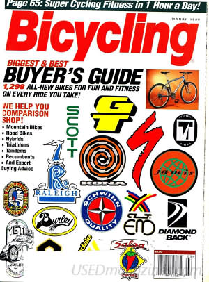 Bicycling March 1995