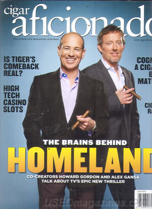 Cigar Aficionado June 2012