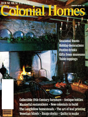 Colonial Homes Winter 1978
