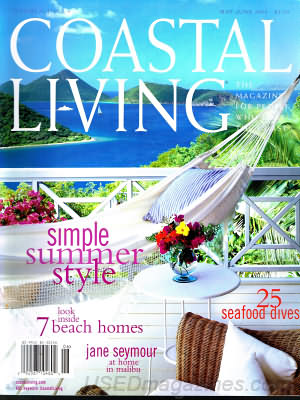Coastal Living May 2004