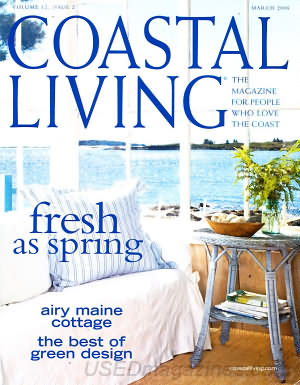 Coastal Living March 2008