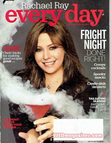 Everyday with Rachael Ray October 2017