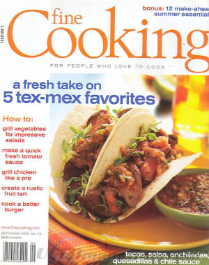 Fine Cooking August/September 2005