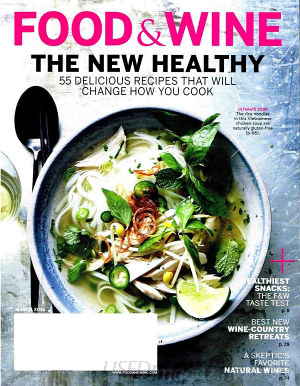 Food & Wine March 2016