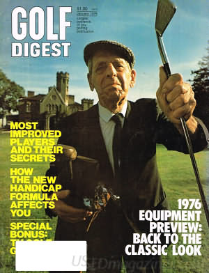 Golf Digest January 1976