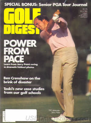 Golf Digest March 1983