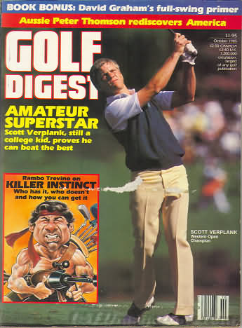 Golf Digest October 1985