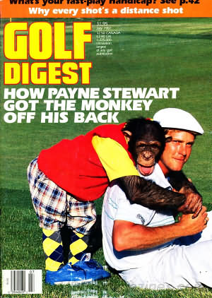 Golf Digest July 1987