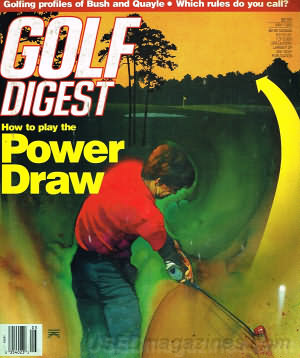 Golf Digest May 1989