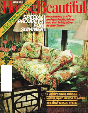 House Beautiful June 1974