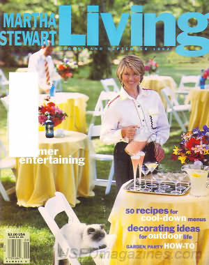 Martha Stewart Living August/September 1992