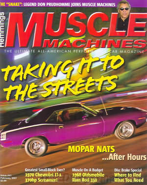 Muscle Machines February 2007