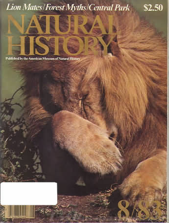 Natural History August 1983
