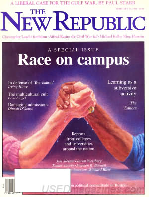 The New Republic February 18, 1991