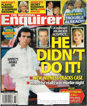 National Enquirer September 04, 2006