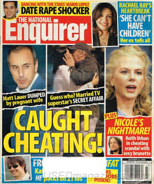 National Enquirer October 23, 2006