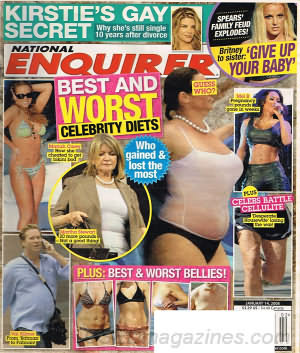 National Enquirer January 14, 2008