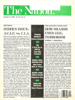 The Nation October 31, 1988