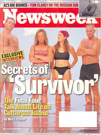 Newsweek August 28, 2000