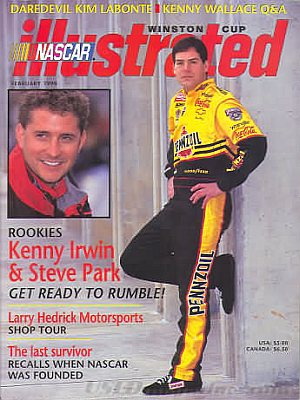 NASCAR Winston Cup Illustrated February 1998