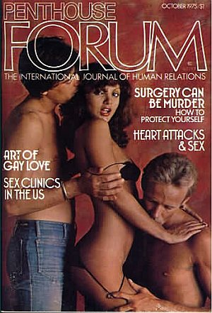 Penthouse Forum October 1975