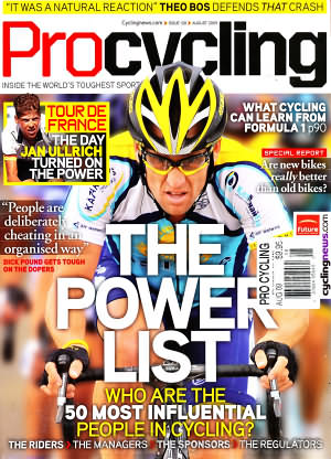 Pro Cycling August 2009