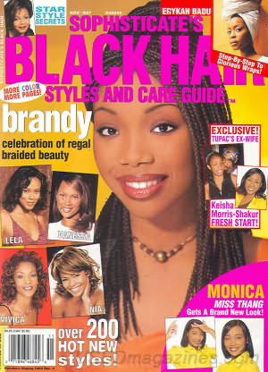 Sophisticates Black Hair November 1997