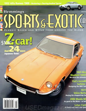 Sports & Exotic Car January 2006