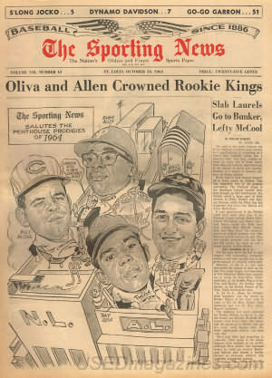 The Sporting News October 10, 1964